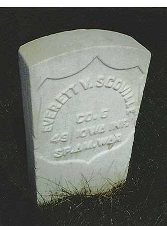 SCOVILLE, EVERETT V. - Scott County, Iowa | EVERETT V. SCOVILLE