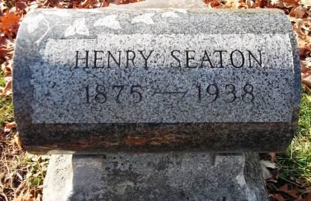 SEATON, HENRY - Scott County, Iowa   HENRY SEATON