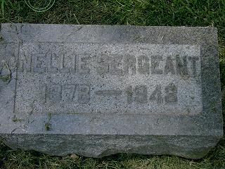 MASON SERGEANT, NELLIE - Scott County, Iowa | NELLIE MASON SERGEANT