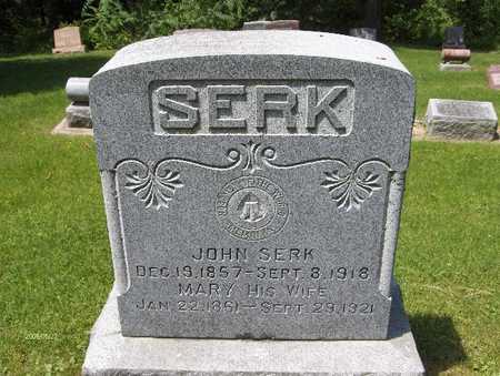 SERK, MARY - Scott County, Iowa | MARY SERK