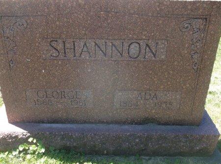 SHANNON, GEORGE WASHINGTON SR. - Scott County, Iowa | GEORGE WASHINGTON SR. SHANNON