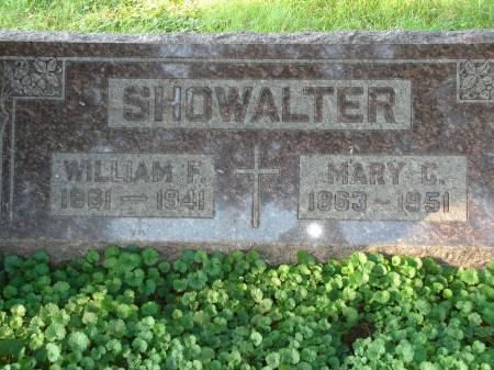 SHOWALTER, WILLIAM F. - Scott County, Iowa | WILLIAM F. SHOWALTER