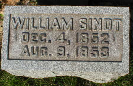 SINDT, WILLIAM - Scott County, Iowa | WILLIAM SINDT
