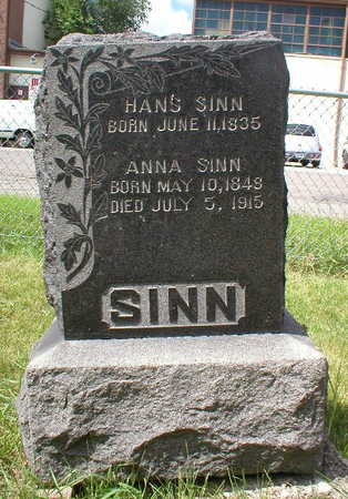 SINN, HANS - Scott County, Iowa | HANS SINN
