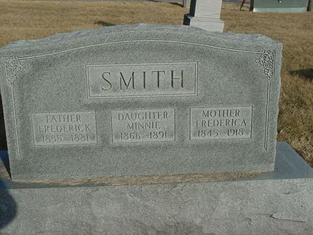 SMITH, FREDERICA - Scott County, Iowa | FREDERICA SMITH