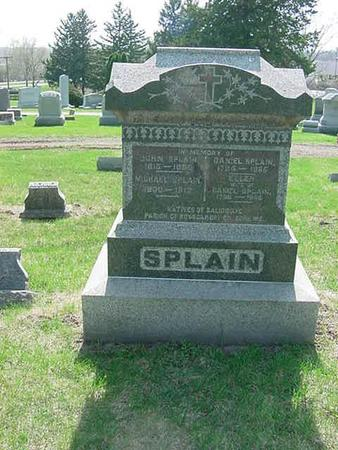 SPLAIN, JOHN - Scott County, Iowa | JOHN SPLAIN