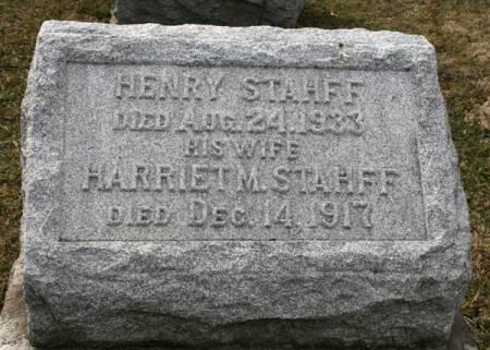 STAHFF, HENRY - Scott County, Iowa | HENRY STAHFF