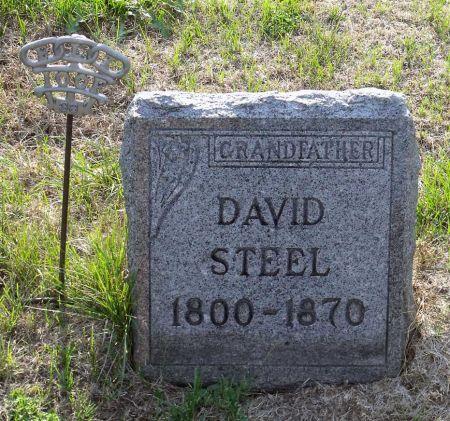 STEEL, DAVID - Scott County, Iowa   DAVID STEEL