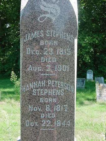 STEPHENS, JAMES - Scott County, Iowa | JAMES STEPHENS
