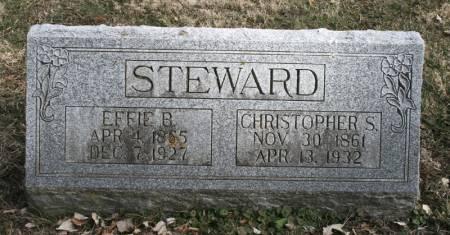 STEWARD, EFFIE B. - Scott County, Iowa | EFFIE B. STEWARD
