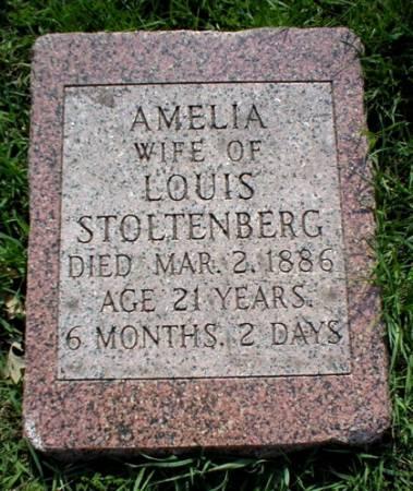 STOLTENBERG, AMELIA - Scott County, Iowa | AMELIA STOLTENBERG