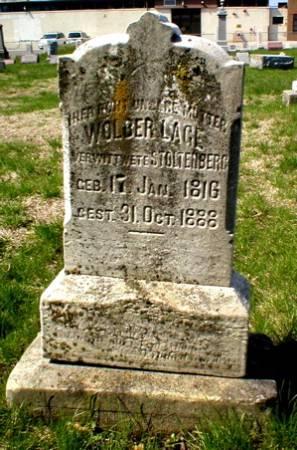 LAGE STOLTENBERG, WOLBER - Scott County, Iowa | WOLBER LAGE STOLTENBERG