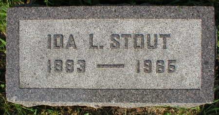 STOUT, IDA L. - Scott County, Iowa | IDA L. STOUT
