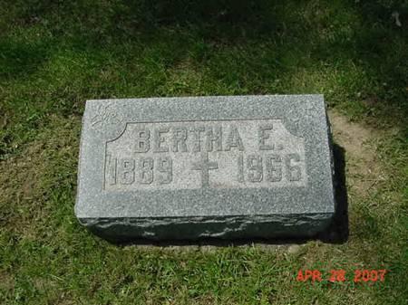 STREICHER, BERTHA E - Scott County, Iowa | BERTHA E STREICHER