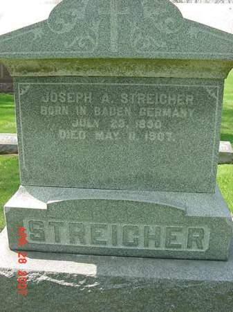 STREICHER, JOSEPH A - Scott County, Iowa | JOSEPH A STREICHER