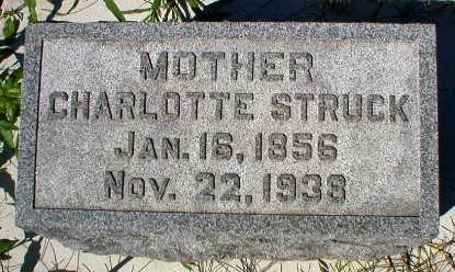 STRUCK, CHARLOTTE - Scott County, Iowa | CHARLOTTE STRUCK
