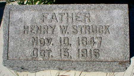 STRUCK, HENRY W. - Scott County, Iowa | HENRY W. STRUCK