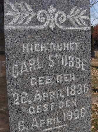 STUBBE, CARL - Scott County, Iowa   CARL STUBBE