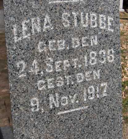 STUBBE, LENA - Scott County, Iowa | LENA STUBBE