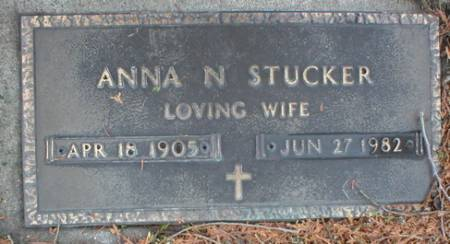 STUCKER, ANNA N - Scott County, Iowa | ANNA N STUCKER