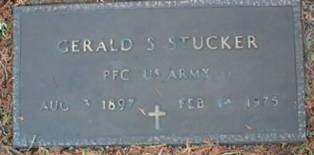 STUCKER, GERALD S - Scott County, Iowa   GERALD S STUCKER