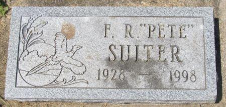 SUITER, FRANCIS R.