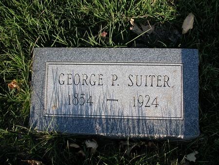 SUITER, GEORGE P. - Scott County, Iowa | GEORGE P. SUITER
