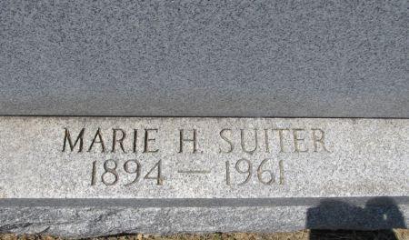 SUITER, MARIE H. - Scott County, Iowa | MARIE H. SUITER