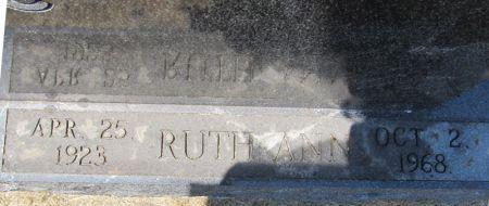 SUITER, RUTH ANN - Scott County, Iowa   RUTH ANN SUITER