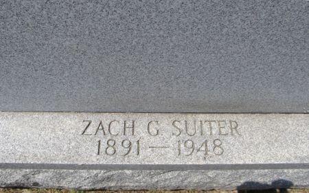 SUITER, ZACH G. - Scott County, Iowa | ZACH G. SUITER