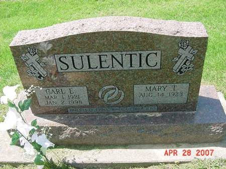 SULENTIC, CARL E - Scott County, Iowa | CARL E SULENTIC