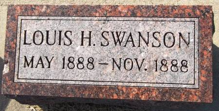 SWANSON, LOUIS H. - Scott County, Iowa | LOUIS H. SWANSON
