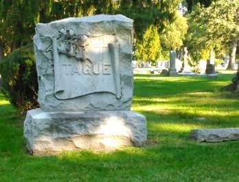 TAGUE, FAMILY MONUMENT - Scott County, Iowa | FAMILY MONUMENT TAGUE