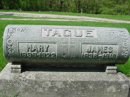 TAGUE, MARY - Scott County, Iowa | MARY TAGUE