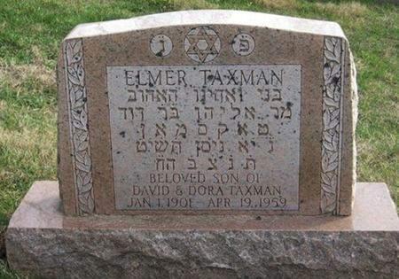 TAXMAN, ELMER - Scott County, Iowa | ELMER TAXMAN