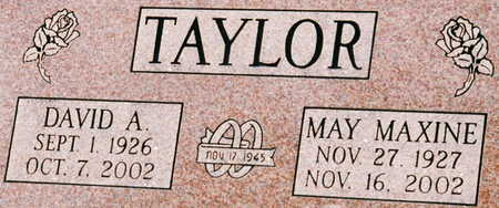 PYATT TAYLOR, MAY MAXINE - Scott County, Iowa | MAY MAXINE PYATT TAYLOR