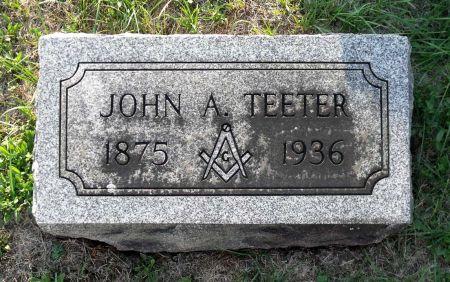 TEETER, JOHN A. - Scott County, Iowa | JOHN A. TEETER