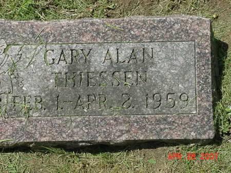 THIESSEN, GARY ALAN - Scott County, Iowa | GARY ALAN THIESSEN