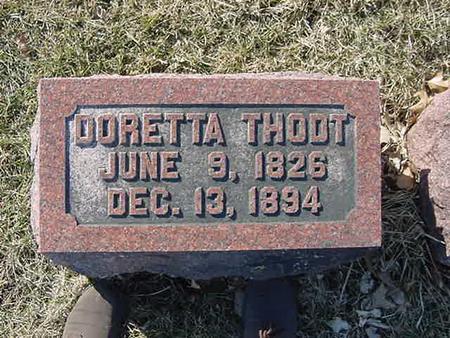 THODT, DORETTA - Scott County, Iowa | DORETTA THODT