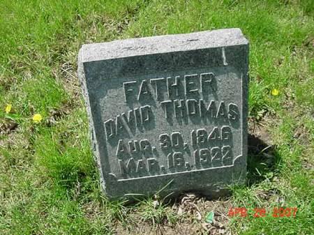 THOMAS, DAVID - Scott County, Iowa   DAVID THOMAS