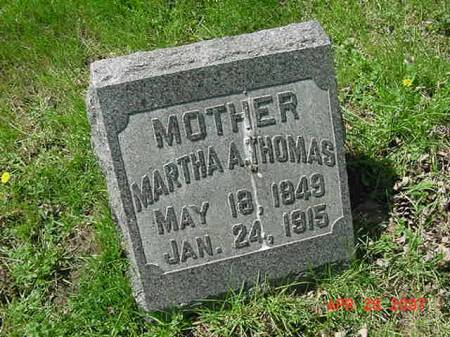THOMAS, MARTHA A - Scott County, Iowa | MARTHA A THOMAS