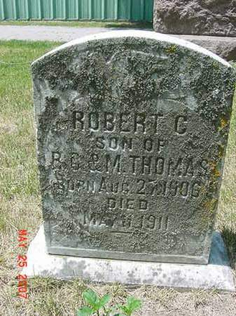 THOMAS, ROBERT C - Scott County, Iowa | ROBERT C THOMAS