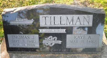 TILLMAN, THOMAS J - Scott County, Iowa | THOMAS J TILLMAN