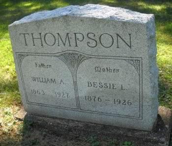 THOMPSON, WILLIAM  A. - Scott County, Iowa   WILLIAM  A. THOMPSON
