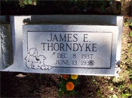 THORNDYKE, JAMES EDWARD - Scott County, Iowa | JAMES EDWARD THORNDYKE