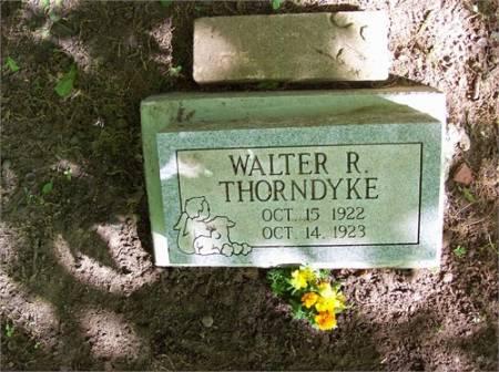THORNDYKE, WALTER RAY TAYLOR - Scott County, Iowa | WALTER RAY TAYLOR THORNDYKE