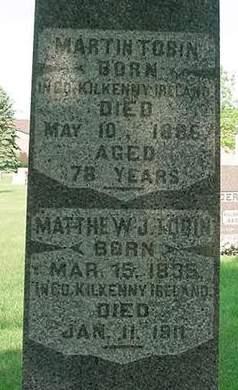 TOBIN, MATTHEW J - Scott County, Iowa | MATTHEW J TOBIN