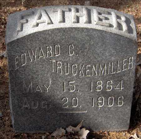 TRUCKENMILLER, EDWARD C. - Scott County, Iowa   EDWARD C. TRUCKENMILLER