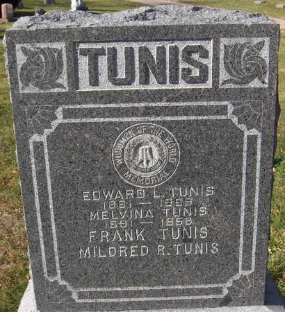 TUNIS, MILDRED R. - Scott County, Iowa | MILDRED R. TUNIS