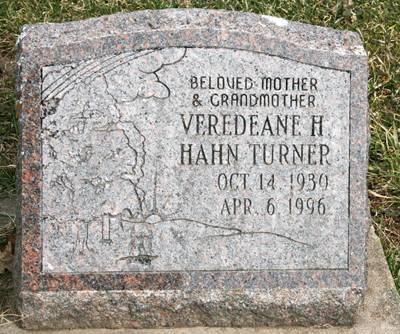 HAHN TURNER, VEREDEANE H. - Scott County, Iowa | VEREDEANE H. HAHN TURNER